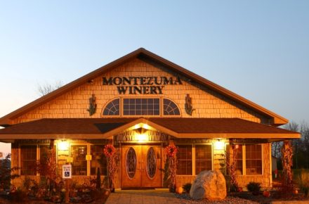 Montezuma Winery Tasting Room front entrance