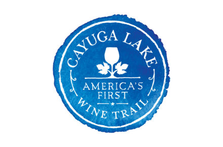 Cayuga Lake Wine Trail America's First Wine Trail Logo
