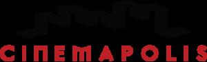 Cinemapolis Vector Logo B&red