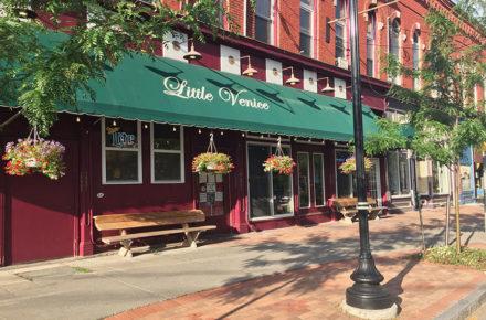 Little Venice Restaurant Front Entrance view