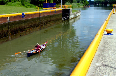Lock On The Cayuga Seneca Canal